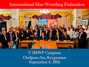 Congress of the International Mas-Wrestling Federation
